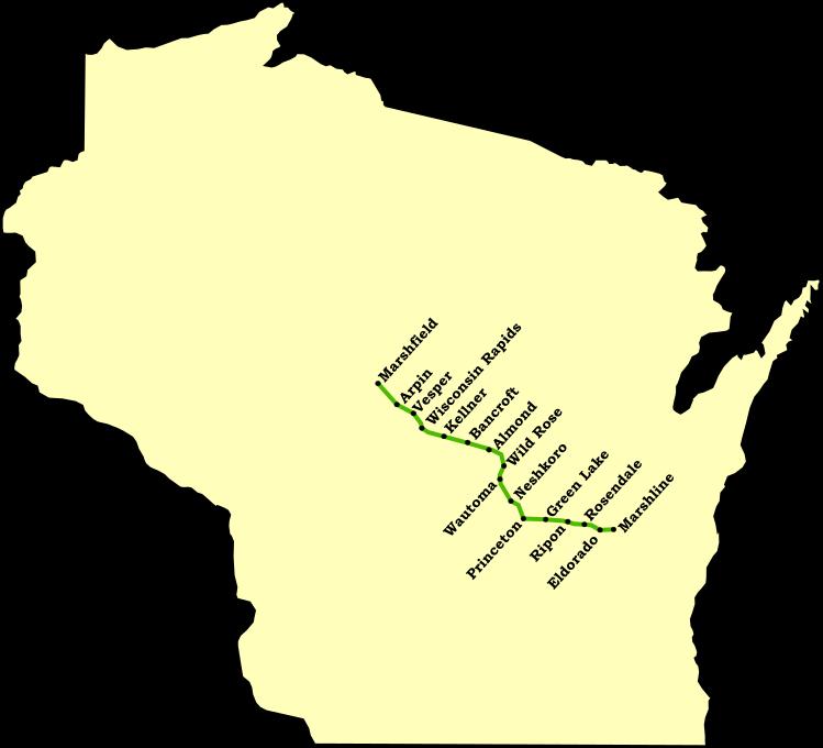 Marshline Map